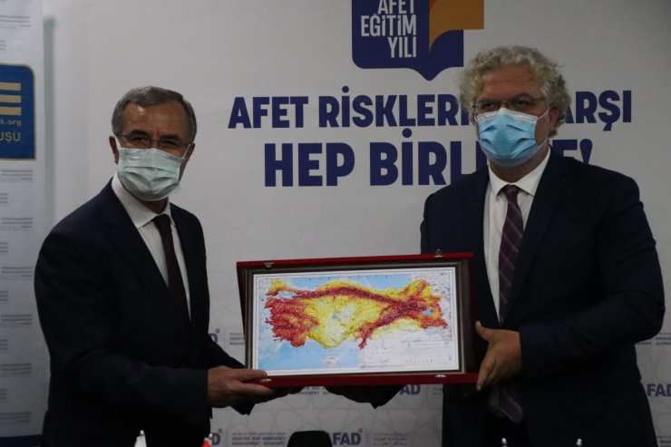 """AFAD ile OSBÜK arasında """"Afet Eğitim İşbirliği Protokolü"""" imzalandı"""