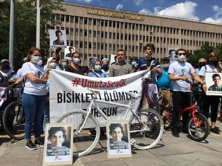 Genç bisikletçi Umut Gündüz'ün ölümüne ilişkin davada tanıklar dinlendi