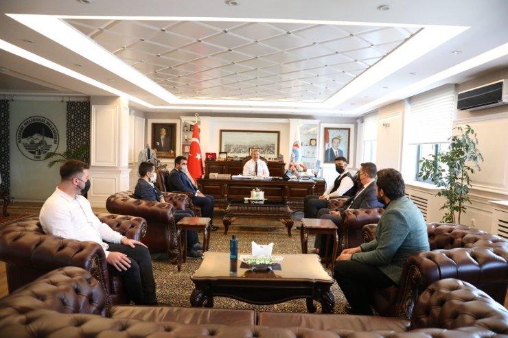 """Başkan Palancıoğlu: """"Gençler için ortak etkinliklerde buluşacağız"""""""