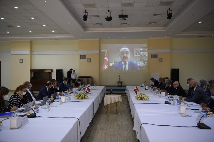 Türkiye'nin su alanında ki başarılı yapıları Irak'tan gelen heyete anlatıldı