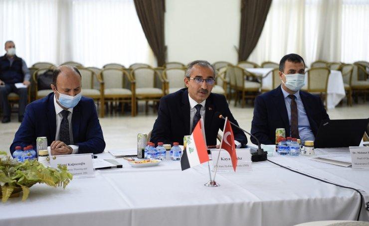 (Düzeltme) Türkiye'nin su alanındaki başarılı yapıları Irak'tan gelen heyete anlatıldı
