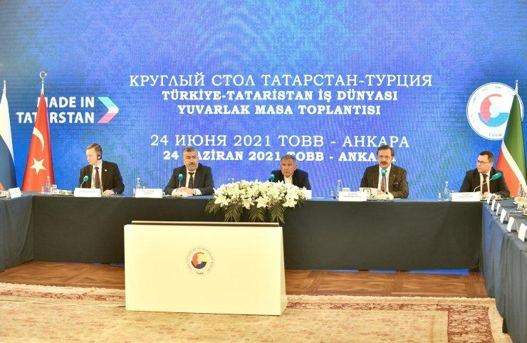 """""""Tataristan ile olan ikili ilişkilerimiz, güçlü tarihi ve iktisadi geçmişe dayanıyor"""""""