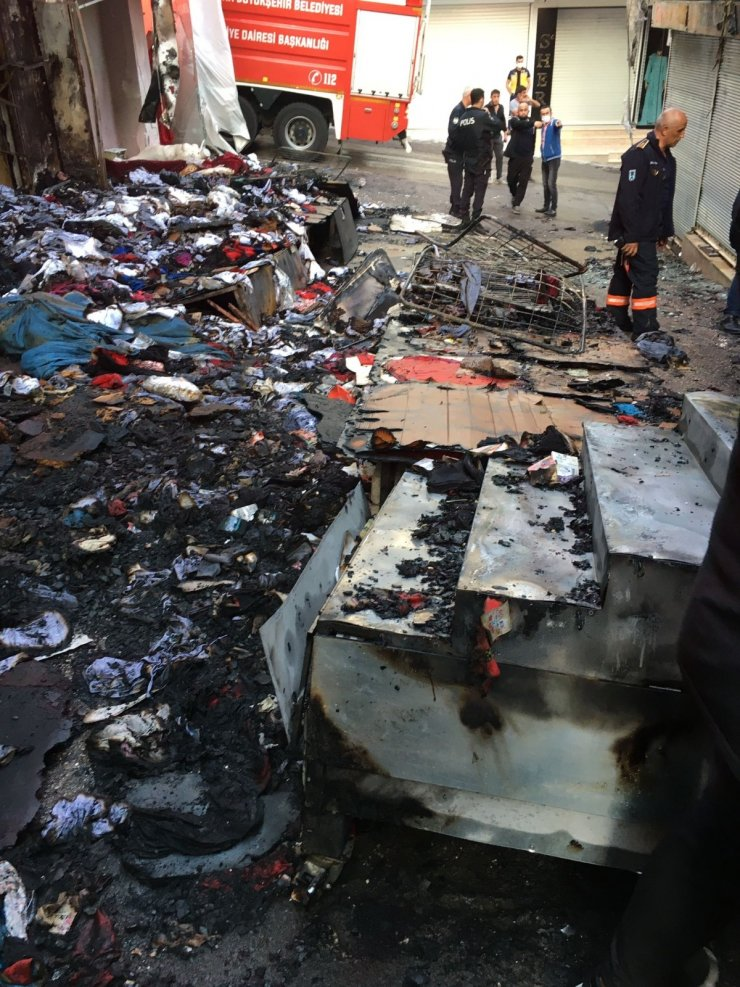 Başkent'in alışveriş sokağındaki yangın kundaklama çıktı