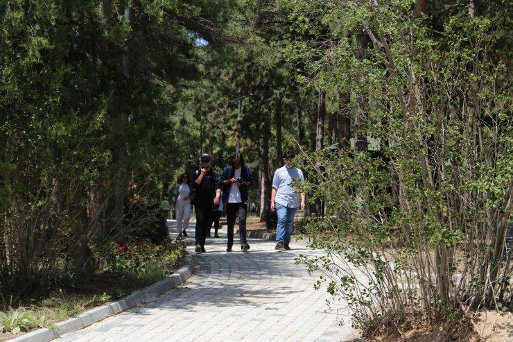 Düşünce okulu öğrencileri Sivrihisar'a hayran kaldı