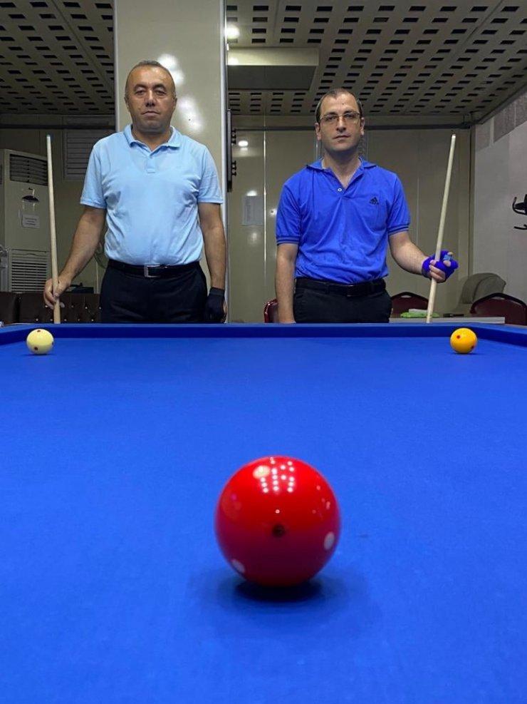 Handikaplı Erciyes 3 Bant Bilardo turnuvası sona erdi