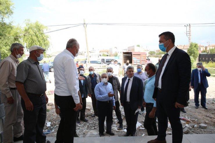 Başkan Büyükkılıç; Bünyan'a yapılan yatırımları yerinde inceledi