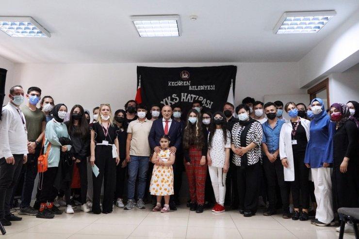 Keçiören Belediye Başkanı Altınok'tan YKS'ya girecek öğrencilere moral