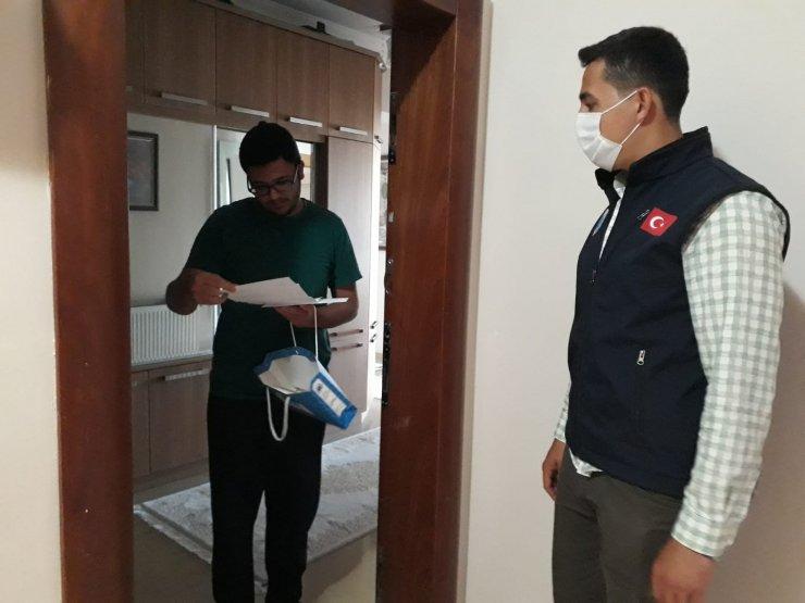 Başkan Türkyılmaz sınava girecek öğrencileri unutmadı