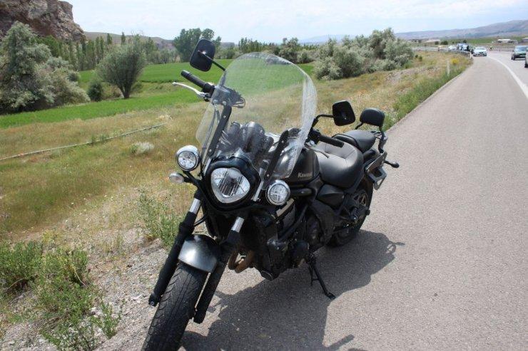 Rus turist motosiklet kazasında öldü