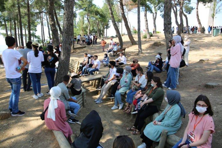 Öğrenciler Çanakkale'de