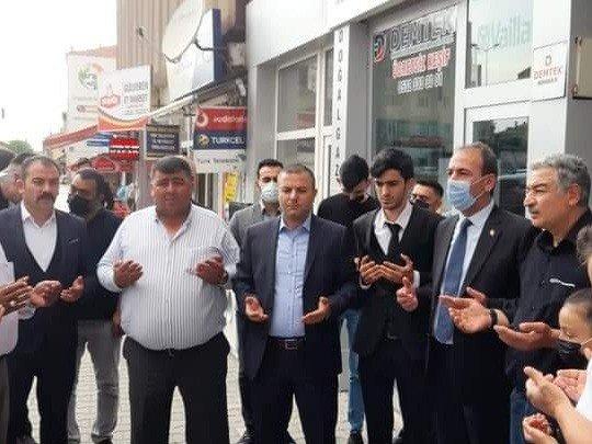 Tomarza Ülkü Ocakları yeni binası dualarla açıldı