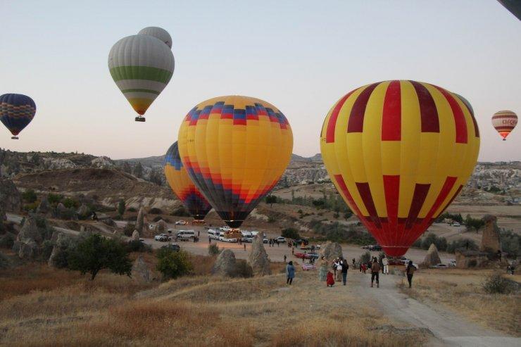 Türkiye ilk kez yurt dışına balon sattı
