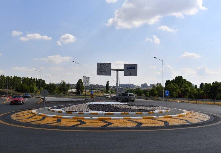 Ankara Büyükşehir Belediyesinden kuru peyzaj çalışması
