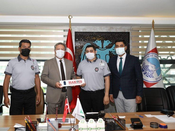 """Başkan Palancıoğlu: """"Çalışanlarımızın haklarını koruyacak şekilde çalışıyoruz"""""""