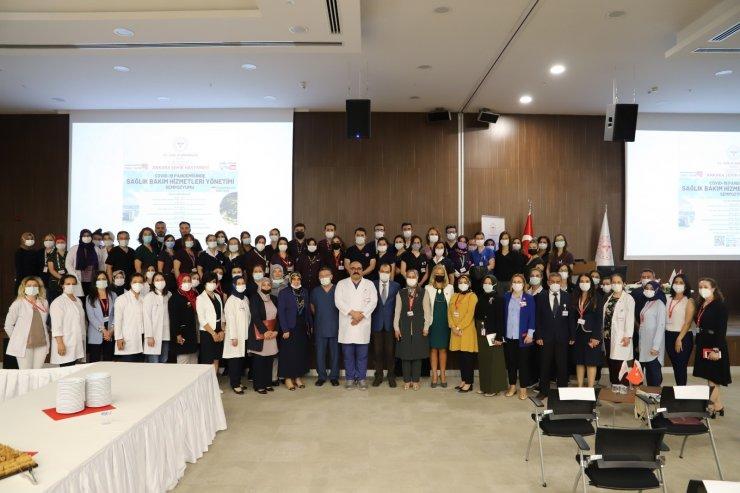 Ankara Şehir Hastanesinde 'Covid-19 Pandemisinde Sağlık Bakım Hizmetleri Yönetimi' sempozyunu