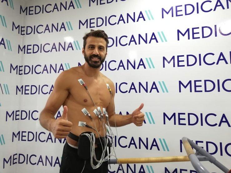 Sivasspor'da 4 futbolcu sağlık kontrolünden geçti
