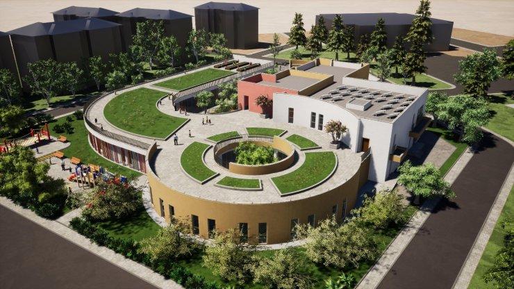Başkent'te 'Engelsiz Yuva ve Engelsiz Çocuk Parkı'nın inşaatı devam ediyor