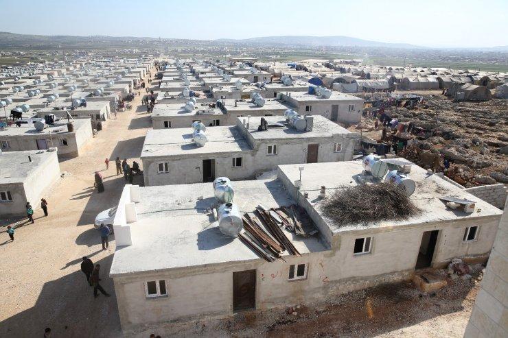 Fransa'dan Suriye'ye 539 iyilik konutu bağışı
