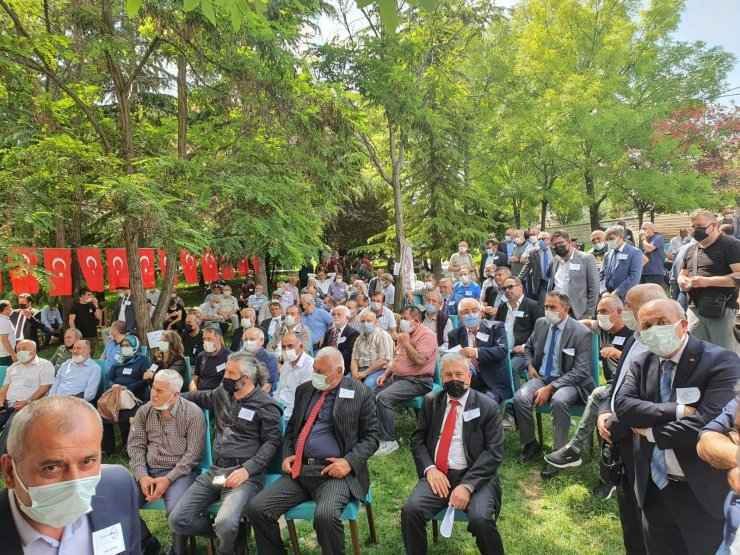 Ankara Yozgatlı Dernekler Federasyonu Olağan Genel Kurulu'nda Ahmet Koç güven tazeledi