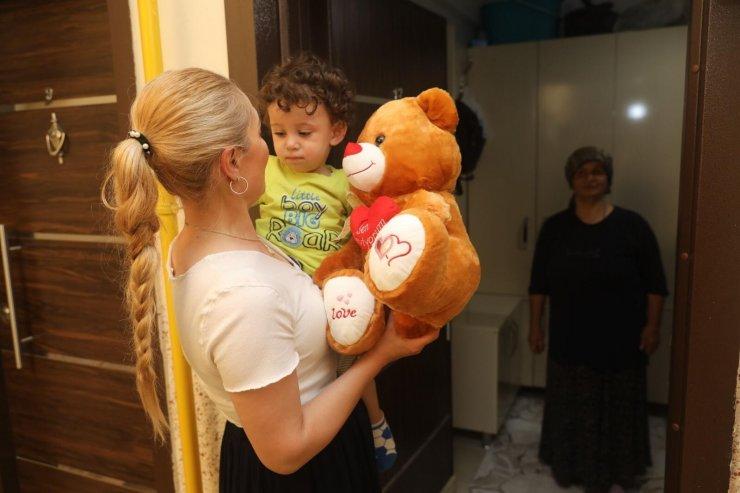 Başkan Yıldızkaya 'Hoşgeldin Bebek' ile ailelerin mutlu günlerinde yanlarında