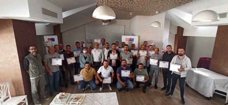 Maden işçileri Eskişehir'de bir araya geldi