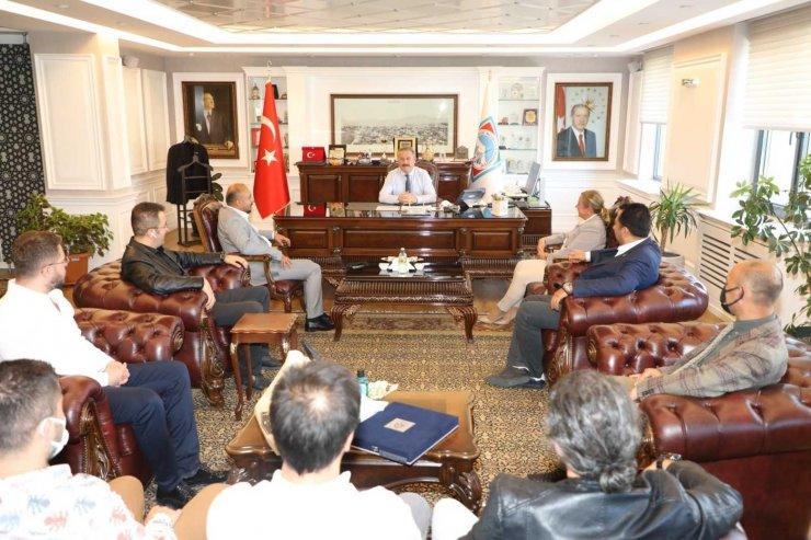Makina Mühendisleri Odası'ndan Başkan Palancıoğlu'na ziyaret